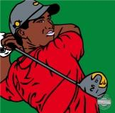 "POPart ""Tiger Woods"""